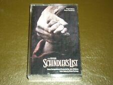 SCHINDLER'S<>ORIGINAL SOUNDTRACK<>Audio Cassette ~ Canada TAPE - CMCAC 10969