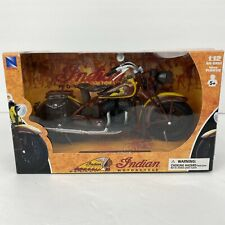 NIB New-Ray 1934 Indian Sport Scout motorcycle 1:12 diecast model toy