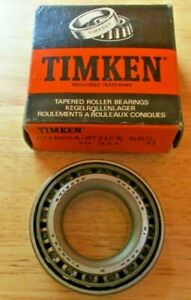 07100SA - 07210X New Timken Tapered Roller Bearings  1x2x0.591""