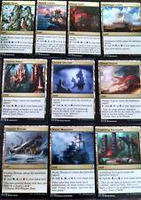 ***10x Tri-Lands*** MINT Commander 2017 MTG Magic Cards (Shards & Khans Duals)