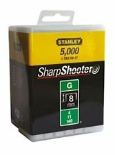 Stanley 1-TRA705-5T 8mm G-Type Heavy Duty Staples 5000 Pieces