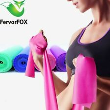 Exercise Resistance Bands Fitness Rubber Yoga Elastic Loops For Gym Training New