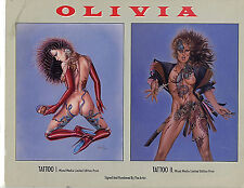 Olivia Tattoo I and II Bane Print Promo Poster New 1992  H32