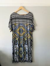 Ronni Nicole Size 16 Dress Paisley Tribal Lined Summer Comfy Ethnic Lightweight