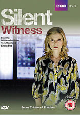SILENT WITNESS - SERIES 13 AND 14 - DVD - REGION 2 UK