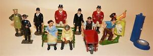 Johillco and Other Makers Farm Figure Lot