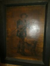 The Woodman; Vide Cowper's Task Antique Portrait 1792