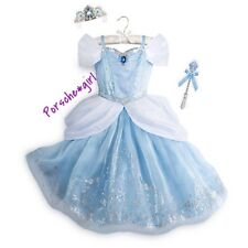 Disney Store Cinderella Interactive Costume Size 5 6 RARE NIP