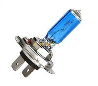 2 Bombillas H7 Halogenas, tipo xenon blanca, 12v/100w, lamparas coche/moto, #233