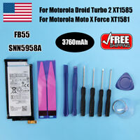 Replacement FB55 Battery SNN5958A For Motorola Droid Turbo 2 XT1585 Moto X Force