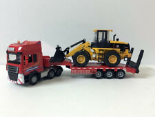 1/50 Scale Die-Cast Toy Model Engineering Vehicles Low Loader With Truck