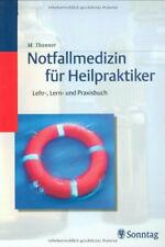 Notfallmedizin für Heilpraktiker | Buch | Gut