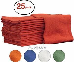 Nabob Wipers Auto-Mechanic Shop Towels Shop Rags 100% Cotton Commercial Grade...