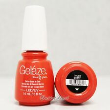 Gelaze China Glaze LED UV Gel Nail Color Polish 0.5 oz - Coral Star 81632