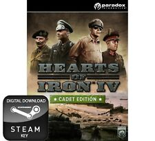 Hearts of Iron IV 4 CADET Edition PC, Mac et Linux Clé Steam