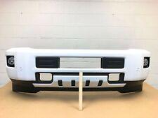 2015-2019 chevy silverado 2500-3500 front bumper w/sensor (summit white) #5