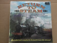RETURN TO STEAM LP record by kenneth granville attwood