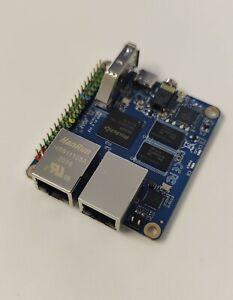 Rock PI E SBC 1GB/WiFi/PoE/2 NIC w/ 16GB eMMC - Raspberry PI for networking!