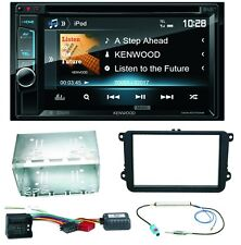 Kenwood DDX-4017DAB Bluetooth CD Einbauset für Golf 5 6 Passat 3C CC B7 Touran