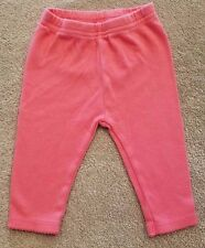CARTER'S 0-3 MONTH CORAL PINK LEGGINGS/PANTS ADORABLE