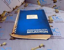 Cincinnati Milacron Acramatic Version 4.0 Robot Control Manual