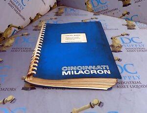 CINCINNATI MILACRON ACRAMATIC VERSION 4.0 ROBOT CONTROL MANUAL