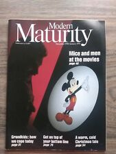 MODERN MATURITY MAGAZINE, MICE AND MEN AT THE MOVIES, DECEMBER 1990 JANUARY 1991