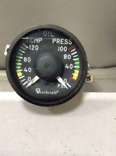 Beechcraft Oil temp/pressure gauge
