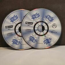 Sims: Deluxe Edition (PC, 2002) DISCS ONLY (2 DISC SET) #6898