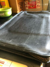 COACH Vintage Leather Business Portfolio Document Case Black