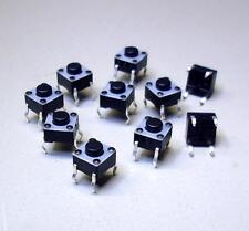 10 Stück Taster FSM 6 x 6 1825910-2 FSMJ, 1x Aus (Ein) 24 V DC / 50 mA  (M3700)