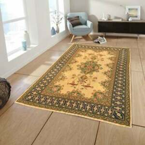 4x6 feet French style Aubusson Rug, Hand Knotted Rug,Floral Design carpets,9369