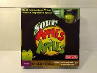 Mattel Games Sour Apples To Apples Board Game #X4806 gm895