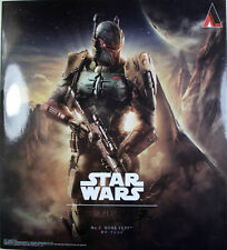 "Star Wars ~ 10"" BOBA FETT ACTION FIGURE ~ Play Arts KAI ~ 100% Authentic"