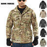 Mens Military Army Coat M65 Combat Field Jacket Tactical Waterproof Hooded Parka