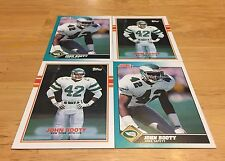 JOHN BOOTY LOT OF 4 FOOTBALL CARDS PHILADELPHIA EAGLES CORNERBACK JETS ROOKIES