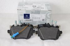 Genuine Mercedes-Benz W213 E-Class REAR Brake Pads & Sensor A0004209700