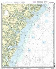 NOAA Tybee Island to Doboy Sound chart 32nd Edition 11509