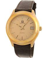 NOS NEW VINTAGE TISSOT GOLD PLATED SWISS WATCH 1980'S