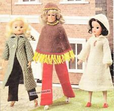 SINDY/BARBIE WINTER SET- 4ply - COPY doll knitting pattern