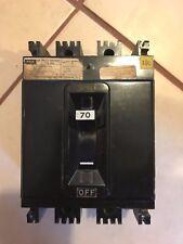 FPE NE231070 MCCB Molded Case Circuit Breaker 70A 240V 3 Pole 250VDC