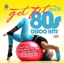 CD Get Fit With des années 80 DISCO HITS d'Artistes Divers 2CDs