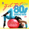 CD Get Fit With 80s Disco Hits von Various Artists 2CDs
