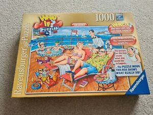 Ravensburger What If? Puzzles No.1 The Lottery 1000 Piece Jigsaw Puzzle