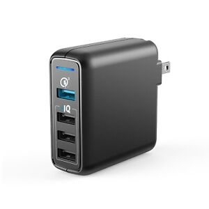 Anker PowerPort Speed 4 wall charger - Black - BRAND NEW SEALED Quick Charge 3.0