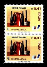 ITALIA REP. - 2003 - Europalia Italia 2003 - 0,41€ Natura morta Morandi 2 valori