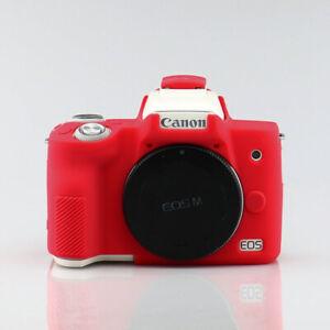 Siliconen Armor Skin Case Body Cover Protector Voor Canon Eos M50 Digitale