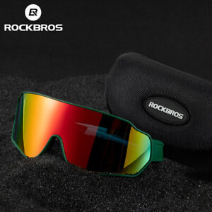 RockBros Polarized Photochromatic Lens Cycling Glasses Eyewear Sunglasses