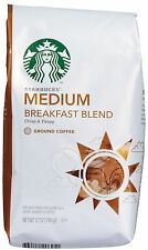 COFFEE STARBUCKS MEDIUM ROAST HOUSE BLEND GROUND BEAN COFFEE 12 OZ SEALED