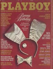Vintage Playboy Magazine December 1980 - sex stars of 1980 PIN- UP IN TACT!!!!